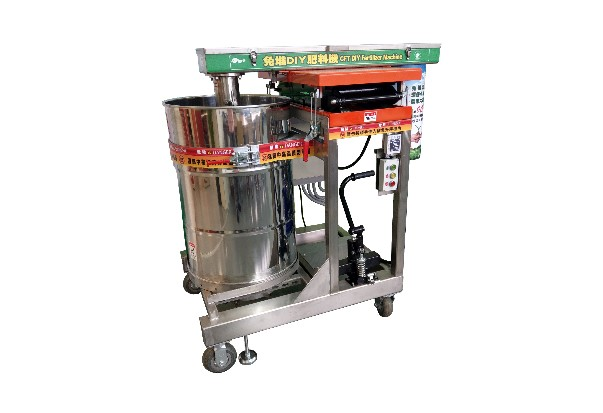 DIY organic fertilizer machine