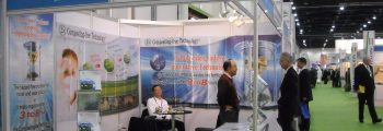 Participated in international exhibitions in 2009